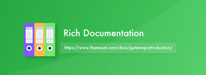 GutenWP WordPress Theme Documentation