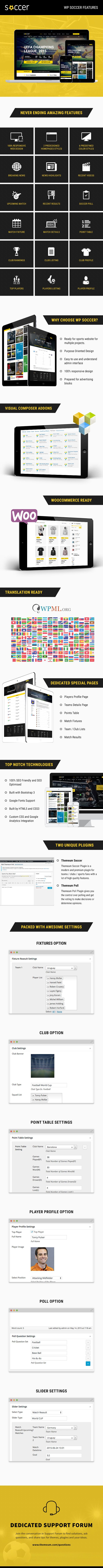 WP Soccer – Sport Team Clubs WordPress Theme