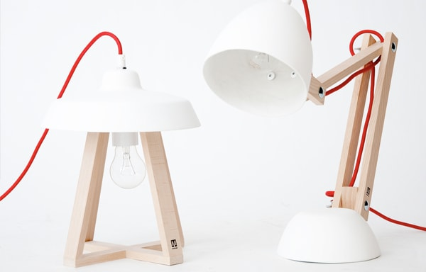 KLADIS - Table Lamp with Magnetic Interchangeable Shades